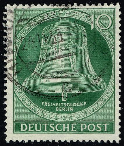Germany #9N95 Freedom Bell; Used (3Stars)  DEU9N095-01XRP