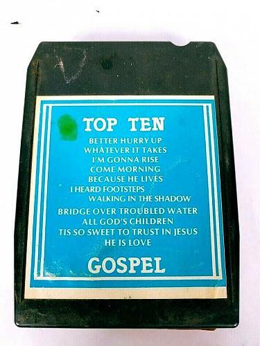 Top Ten Gospel Volume 6 (8-Track Tape, VI-77-1054-8T)