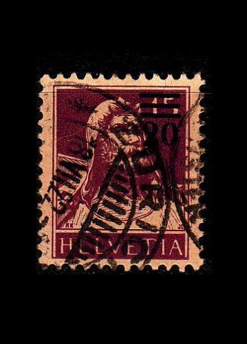 SCHWEIZ SWITZERLAND [1921] MiNr 0160 b ( O/used )