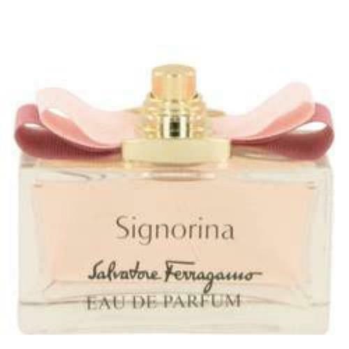 Signorina Eau De Parfum Spray (Tester) By Salvatore Ferragamo