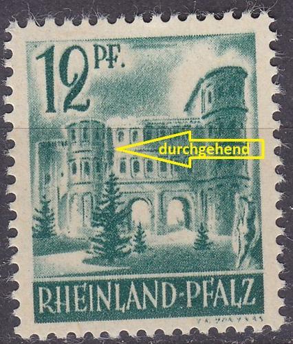 GERMANY Alliiert Franz. Zone [RheinlPfalz] MiNr 0004 vw I ( **/mnh )
