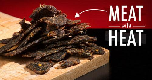 Spicy Hot Tasty Ghost Pepper Beef Jerky YouTube Challenge Free Shipping