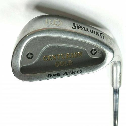 Spalding Centurion Gold 9 Iron Right Hand Flex Steel Golf Club