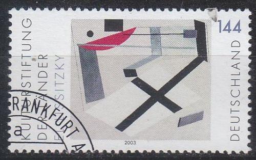 GERMANY BUND [2003] MiNr 2308 ( O/used ) Kunst