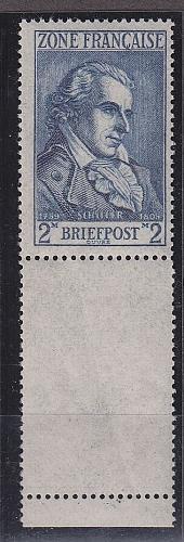 GERMANY Alliiert Franz. Zone [Allgemein] MiNr 0012 L ( **/mnh ) [01]