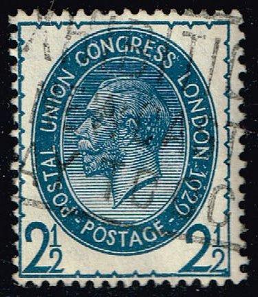 Great Britain #208 King George V; Used (11.50) (2Stars) |GBR0208-01XRS