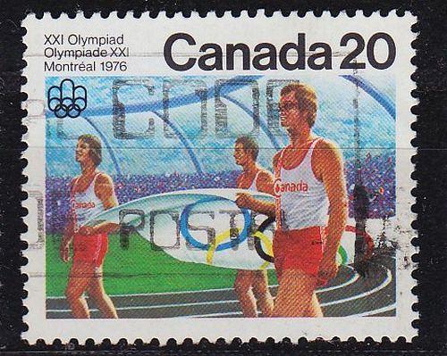 KANADA CANADA [1976] MiNr 0631 ( O/used ) Olympiade