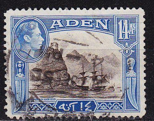 ADEN [1939] MiNr 0024 ( O/used )