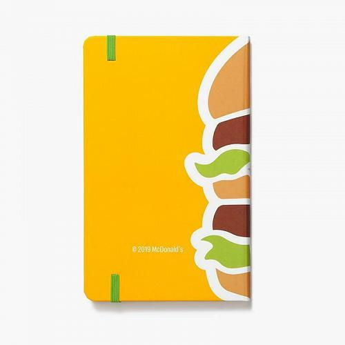 New McDonald Big Mac Journal Writing Hardcover Soft Touch Free Shipping