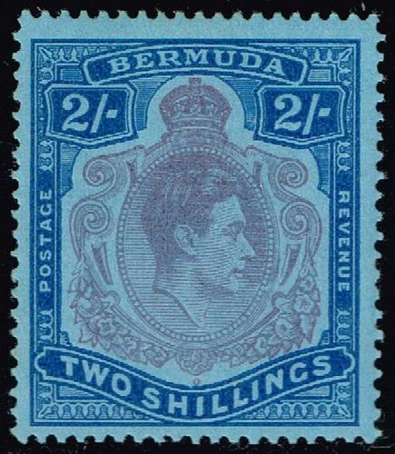 Bermuda #123 King George VI; Unused (3Stars)  BER0123-01XRP