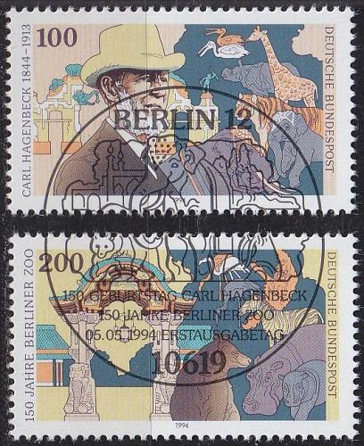GERMANY BUND [1994] MiNr 1734-35 ( O/used )
