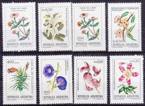ARGENTINIEN ARGENTINA [Lot] 06 ( **/mnh ) ex Blumen Schön