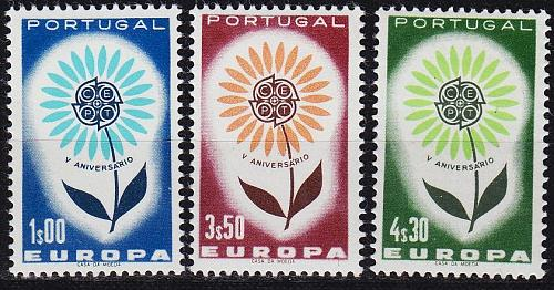 PORTUGAL [1964] MiNr 0963-65 ( **/mnh ) CEPT