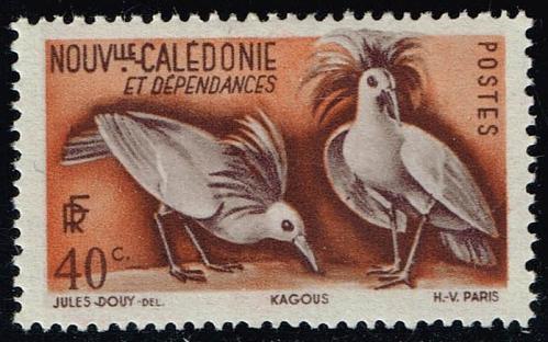 New Caledonia #278 Kagu Birds; Unused (0.45) (2Stars)  NWC0278-01