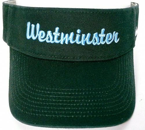 Westminster College Blue Jays Fulton Missouri Men's Nike Black Visor Adjustable