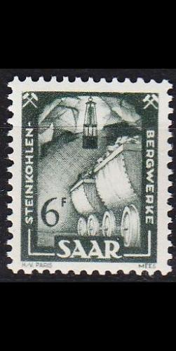 GERMANY Saar [1949] MiNr 0277 ( **/mnh )