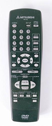 Mitsubishi RM-D6 DVD Player Remote Control