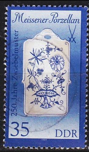 GERMANY DDR [1989] MiNr 3243 I ( OO/used ) Meissen
