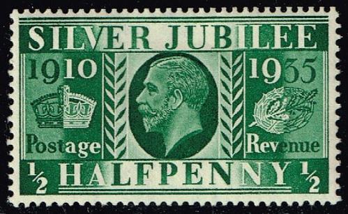 Great Britain #226 Silver Jubilee; Unused (1.00) (4Stars) |GBR0226-04XRS