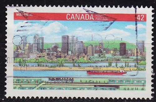 KANADA CANADA [1992] MiNr 1279 ( O/used ) Bauwerke