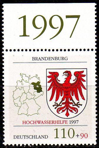 GERMANY BUND [1997] MiNr 1941 ( **/mnh ) Wappen