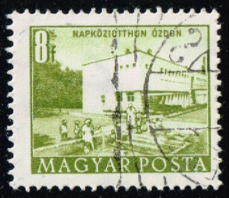 Hungary #1048 Day Nursery in Ozd; CTO (0.25) (2Stars) |HUN1048-01