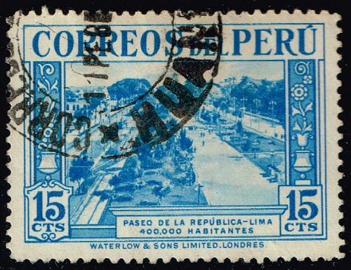 Peru **U-Pick** Stamp Stop Box #158 Item 89  USS158-89