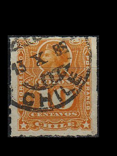 CHILE [1883] MiNr 0035 b ( O/used )