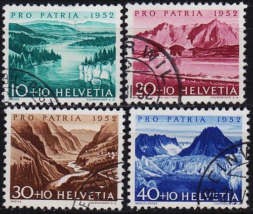 SCHWEIZ SWITZERLAND [1952] MiNr 0570 ex ( O/used ) [01] Pro Patria