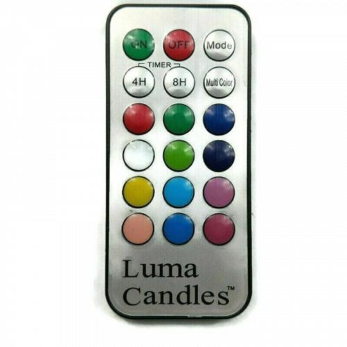 Genuine Luma Candles Remote Control Tested Working