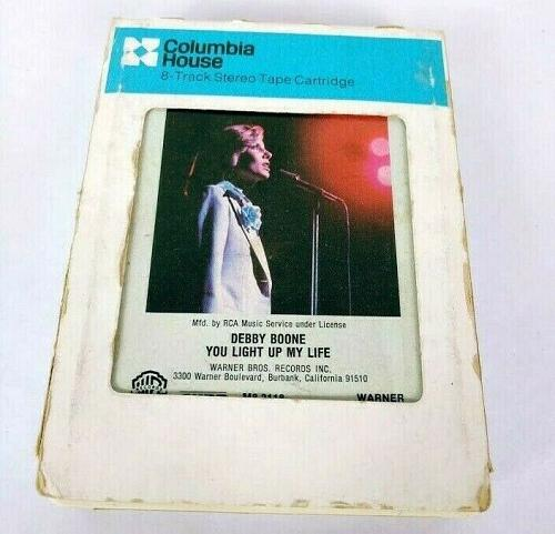 Debby Boone You Light Up My Life (8-Track Tape, M8 3118)