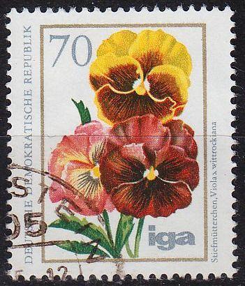 GERMANY DDR [1975] MiNr 2075 ( OO/used ) Blumen