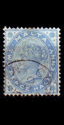 MALTA [1885] MiNr 0007 b ( O/used )
