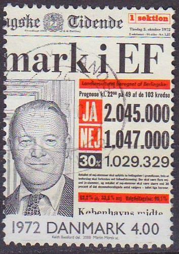 DÄNEMARK DANMARK [2000] MiNr 1263 ( O/used )