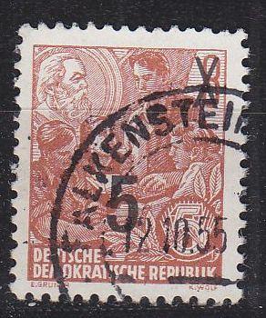 GERMANY DDR [1954] MiNr 0436 I m ( OO/used )