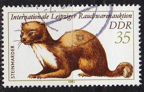GERMANY DDR [1982] MiNr 2680 ( OO/used ) Tiere