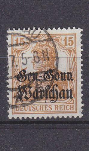 GERMANY REICH Besetzung [Polen] MiNr 0011 ( O/used )