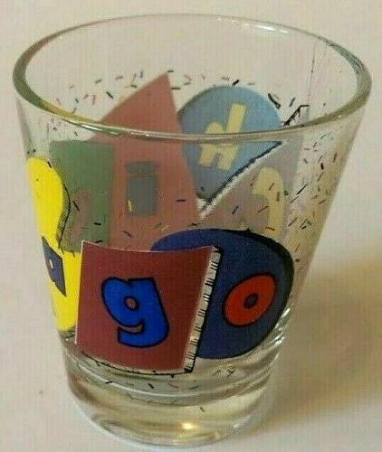 """Chicago Party Style 2.25"""" Collectible Shot Glass"""