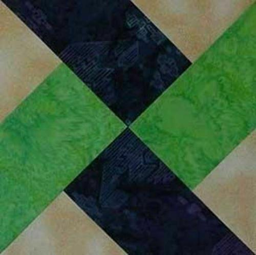 """2 Piece Quilting Whirlwind 6"""" Set 1/8"""" Acrylic - Template"""