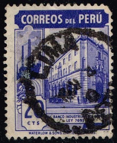 Peru **U-Pick** Stamp Stop Box #158 Item 47  USS158-47