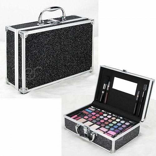 Set Teen Beauty Cosmetic Makeup Kit All In One Girls Storage Case 54 Pieces New