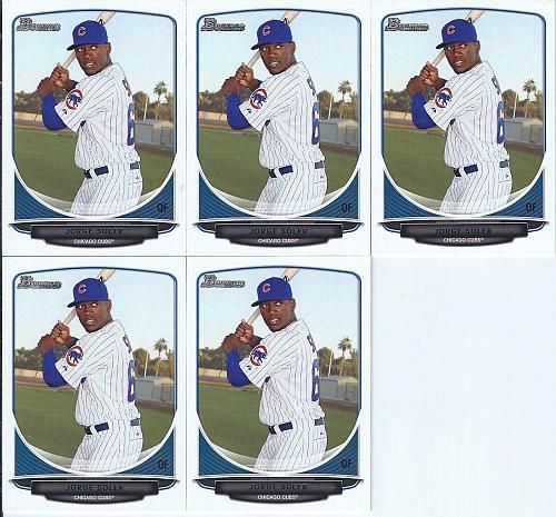 Jorge Soler 2013 Bowman Top Prospect ( x 5 )