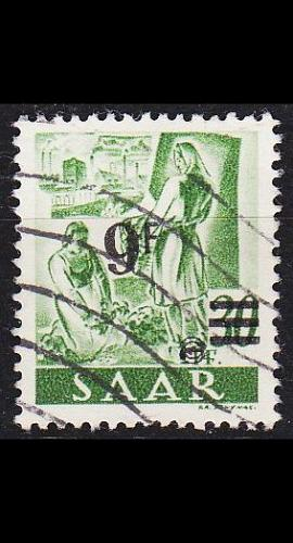 GERMANY Saar [1947] MiNr 0234 II ( O/used ) [01]