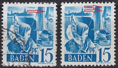 GERMANY Alliiert Franz. Zone [Baden] MiNr 0019 y I,II ( O/used ) [01]