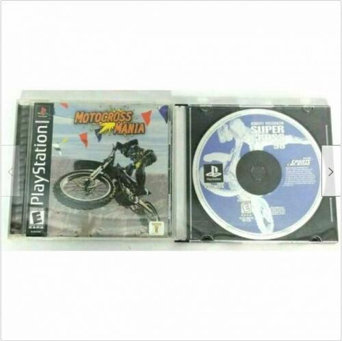 Motocross Mania, Jeremy Mcgrath Super Cross 98 (Sony PlayStation, 2001)