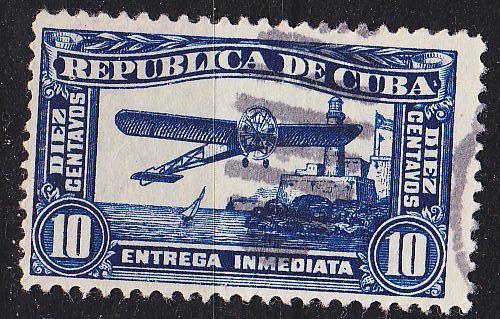 KUBA CUBA [1914] MiNr 0037 ( O/used ) Flugzeuge