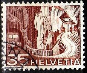 SCHWEIZ SWITZERLAND [1949] MiNr 0536 ( O/used )