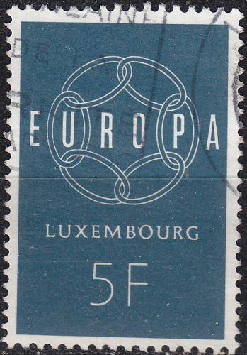 LUXEMBURG LUXEMBOURG [1959] MiNr 0610 ( O/used ) CEPT