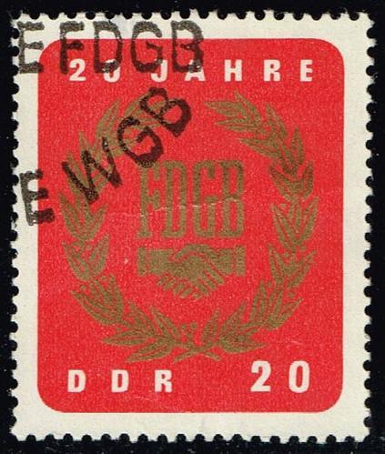 Germany DDR #773 Free German Trade Union; CTO (2Stars) |DDR0773-04