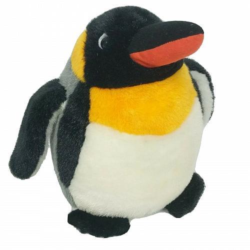 "Sugar Loaf Black White Gray Orange Standing Penguin Plush Stuffed Animal 11"""